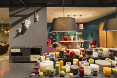 Showroom d'Athezza-Hanjel, crateur d'ambiances