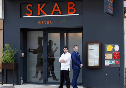 Skab restaurant gastronomique Nîmes