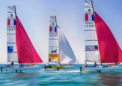 l'équipe de France Nacra 17