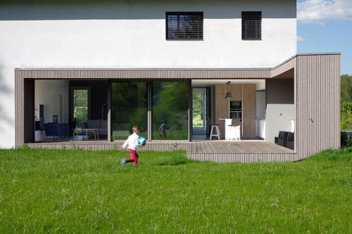 Villa contemporaine avec très grande ouverture