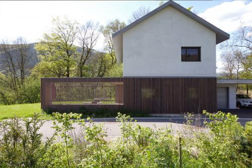 Villa contemporaine et lignes panoramiques