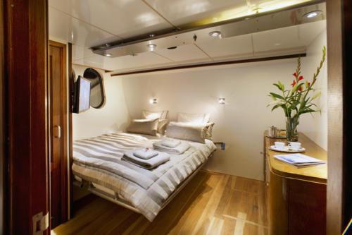 Cabine bateau de luxe