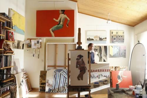 Magi Puig dans son atelier