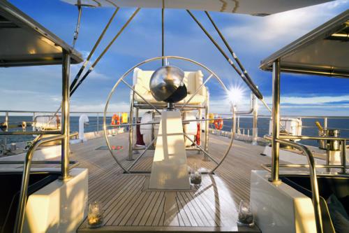 Barre bateau de luxe