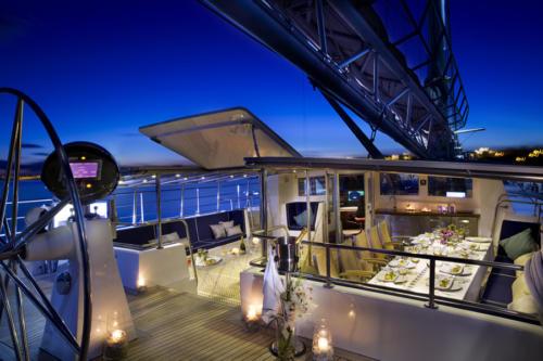 Soirée sur un bateau de luxe