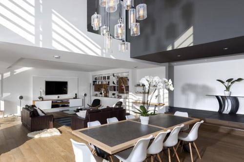 Intérieur villa contemporaine