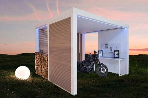 Carport aluminium wallis&park