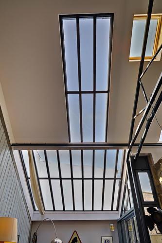 Puits de lumière pour toiture de véranda