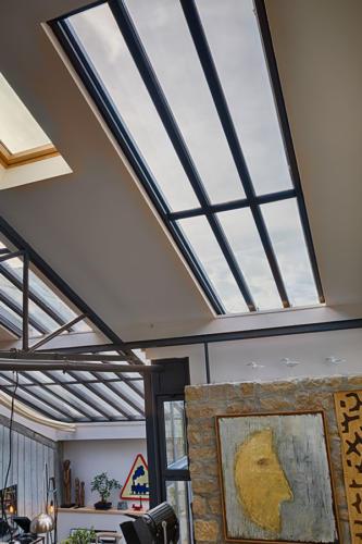 puits de lumière toiture véranda